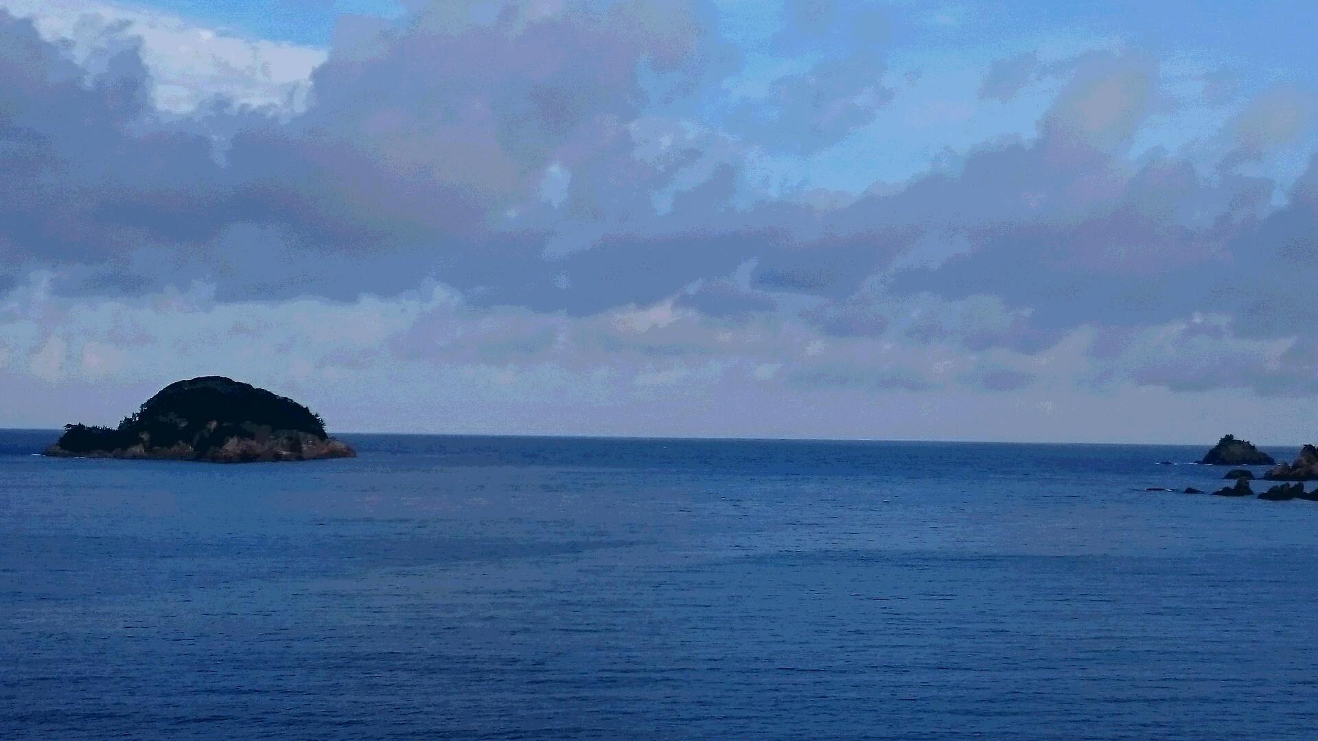 今日から須佐湾遊覧船、夏の定時運航