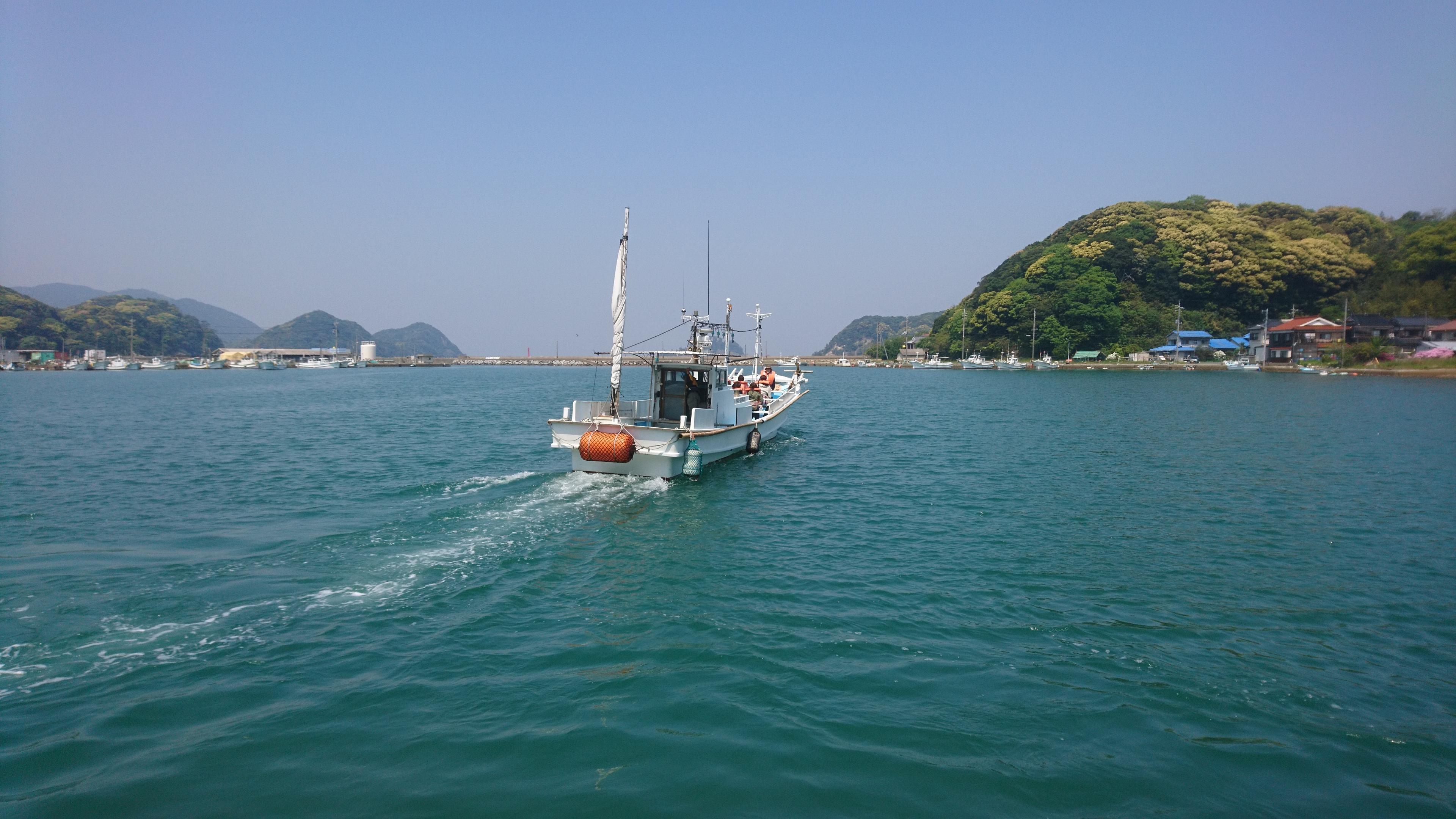 明日(4/29)GW遊覧船運航の開始です。