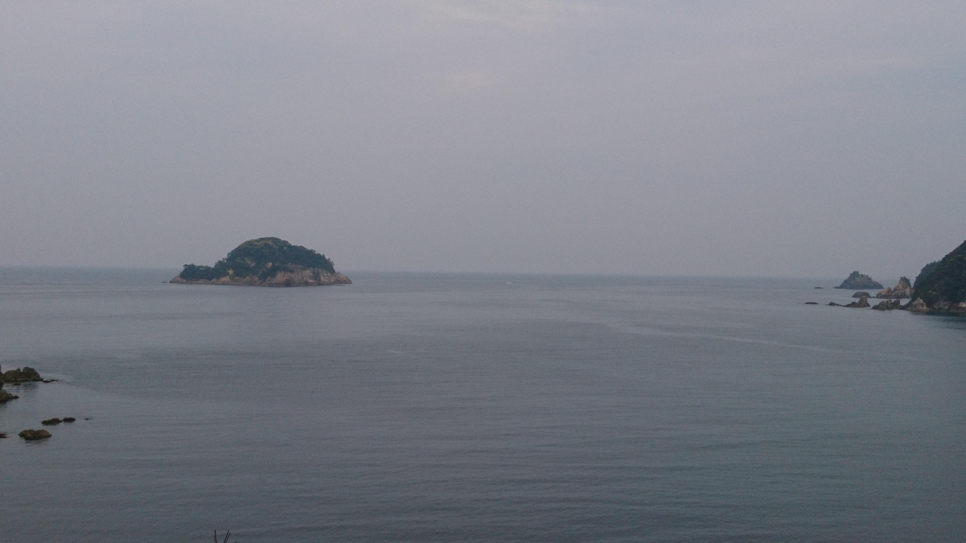 4月30日須佐湾遊覧船